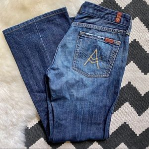 7 For All Mankind A Pocket Jeans 29x27
